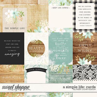 A Simple Life: Cards by Kristin Cronin-Barrow