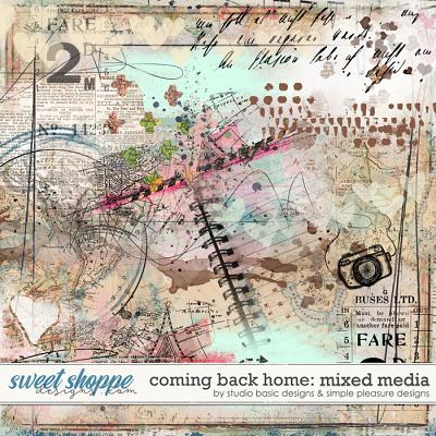 Coming Back Home Mixed Media by Simple Pleasure Designs and Studio Basic