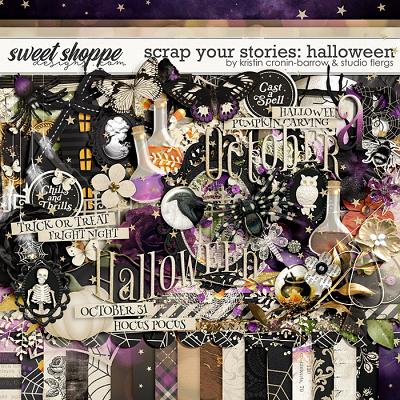 Scrap Your Stories: Halloween by Studio Flergs & Kristin Cronin-Barrow