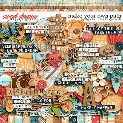 Make Your Own Path by Digital Scrapbook Ingredients