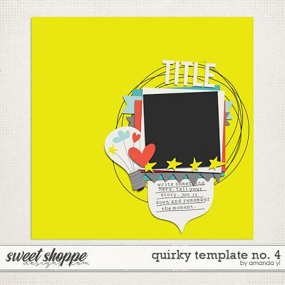 Quirky template no. 4 by Amanda Yi