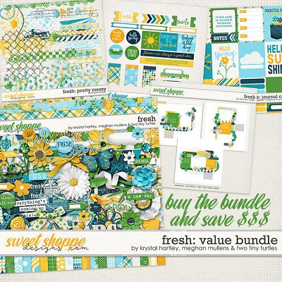 Fresh Value Bundle by Krystal Hartley, Meghan Mullens & Two Tiny Turtles