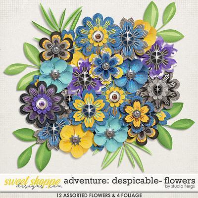 Adventure: Despicable- FLOWERS by Studio Flergs