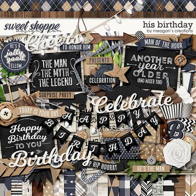 His Birthday by Meagan's Creations