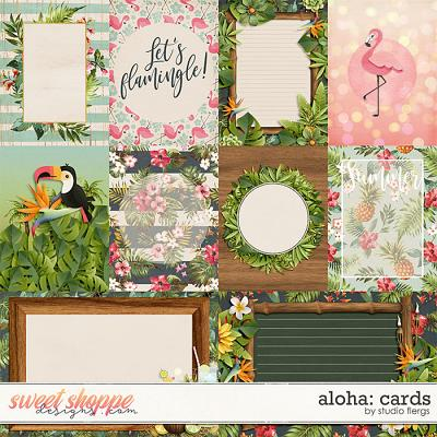 Aloha: CARDS by Studio Flergs