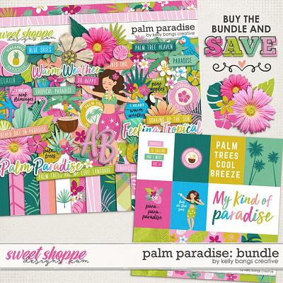 Palm Paradise Bundle by Kelly Bangs Creative