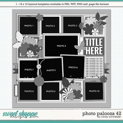 Cindy's Layered Templates - Photo Palooza 42 by Cindy Schneider