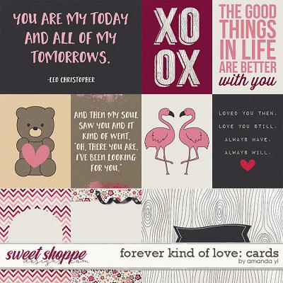 Forever Kind Of Love: Cards by Amanda Yi