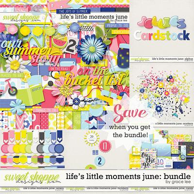 Life's Little Moments June: Bundle by Grace Lee