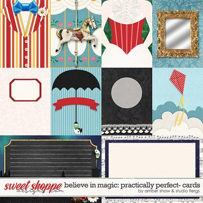Believe in Magic: Practically Perfect Cards by Amber Shaw & Studio Flergs