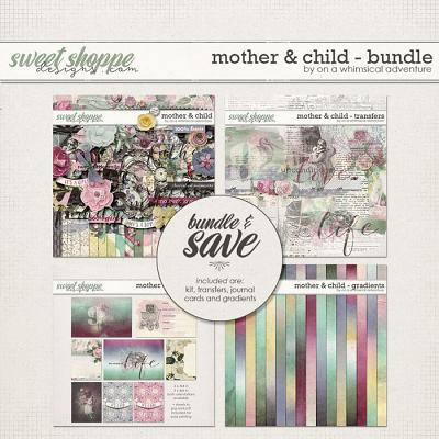 Mother And Child Bundle by On A Whimsical Adventure
