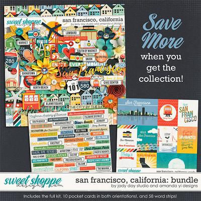 San Francisco, California : Bundle by Jady Day Studio & Amanda Yi
