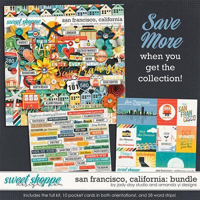 San Francisco, California : Bundle by Jady Day Studio & Amanda Yi