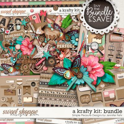 "a ""krafty"" kit BUNDLE: simple pleasure designs by jennifer fehr"
