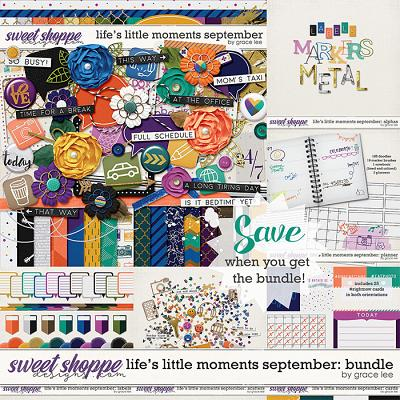 Life's Little Moments September: Bundle by Grace Lee