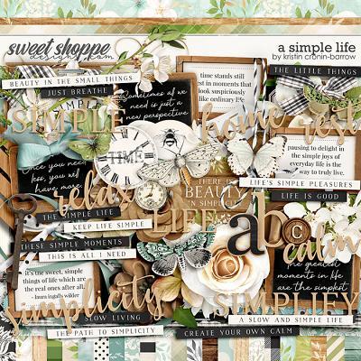 A Simple Life by Kristin Cronin-Barrow
