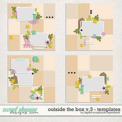 Outside The Box Templates Vol.3 by Digital Scrapbook Ingredients