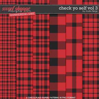 Check Yo Self VOL 3 by Studio Flergs