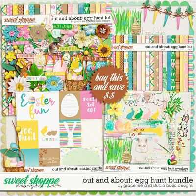 Out and About: Egg Hunt Bundle by Grace Lee and Studio Basic Designs