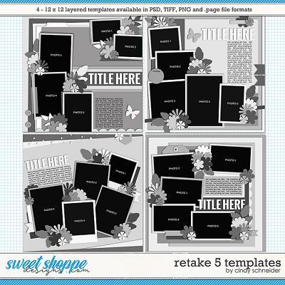 Cindy's Layered Templates - Retake Five by Cindy Schneider