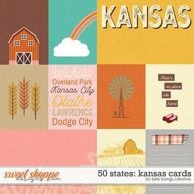 50 States: Kansas Cards by Kelly Bangs Creative