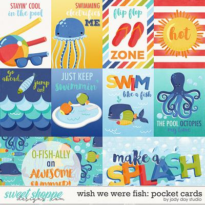 Wish We Were Fish Pocket Cards by Jady Day Studio