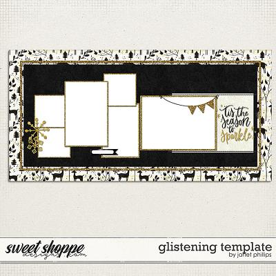 GLISTENING: TEMPLATE by Janet Phillips