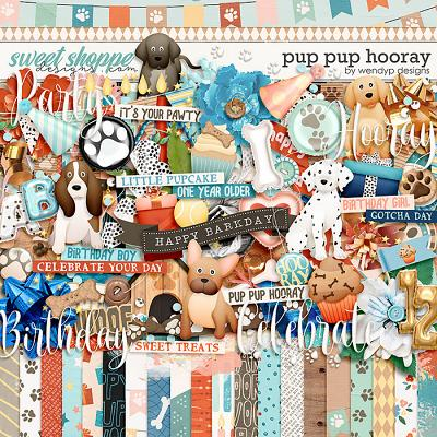 Pup pup hooray by WendyP Designs