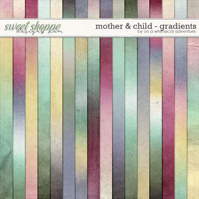 Mother And Child Gradients by On A Whimsical Adventure