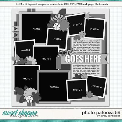 Cindy's Layered Templates - Photo Palooza 55 by Cindy Schneider