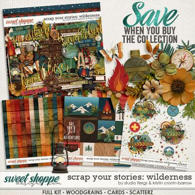 Scrap Your Stories: Wilderness - BUNDLE by Studio Flergs & Kristin Cronin-Barrow
