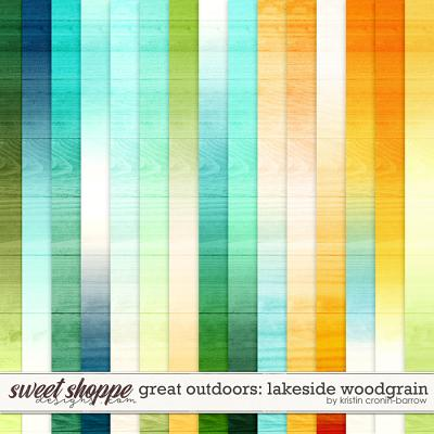 Great Outdoors: Lakeside Woodgrain by Kristin Cronin-Barrow