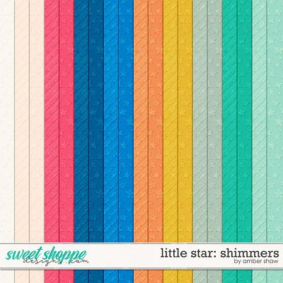 Little Star Shimmers by Amber Shaw