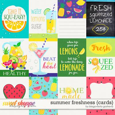 Summer Freshness {cards}  by Blagovesta Gosheva