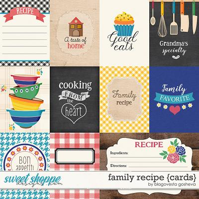 Family recipe {cards} by Blagovesta Gosheva