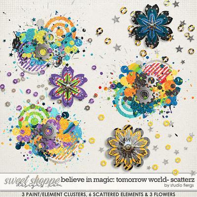Believe in Magic: TOMORROW WORLD- SCATTERZ by Studio Flergs