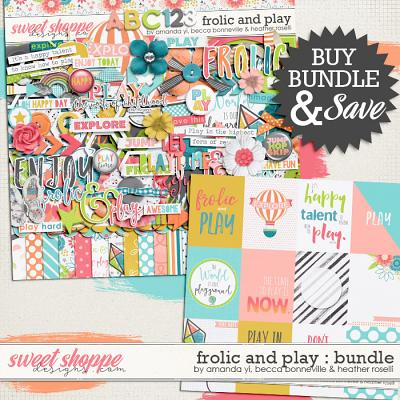 Frolic & Play Bundle by Amanda Yi, Becca Bonneville and Heather Roselli