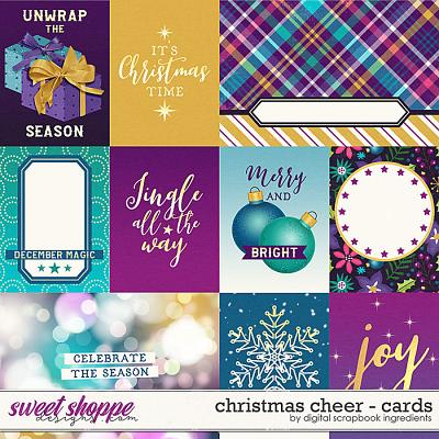 Christmas Cheer | Cards by Digital Scrapbook Ingredients