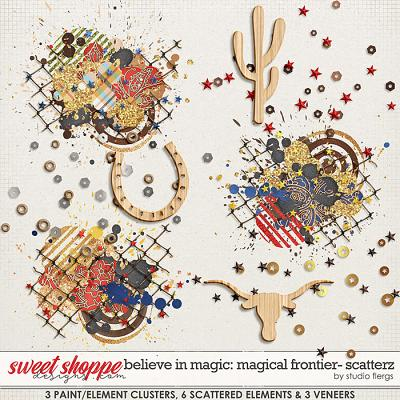 Believe in Magic: Magical Frontier- SCATTERZ by Studio Flergs