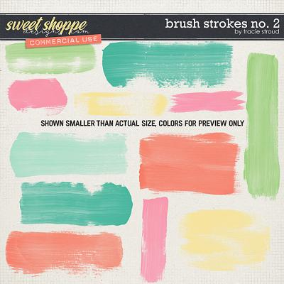 CU Brush Strokes no. 2 by Tracie Stroud
