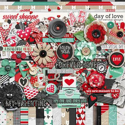 Day of love by WendyP Designs