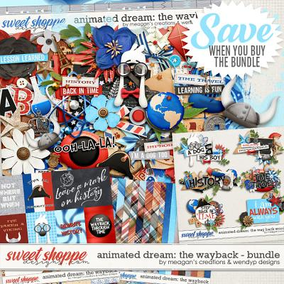 Animated Dream: The Way Back Bundle by Meagan's Creations and WendyP Designs