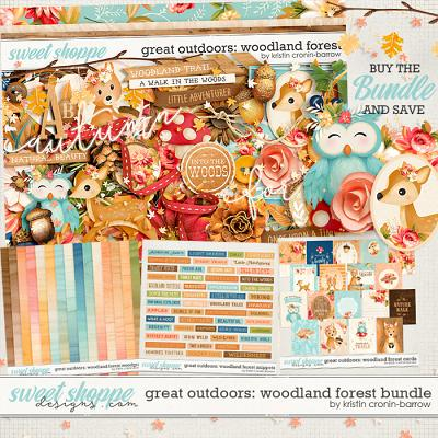 Great Outdoors: Woodland Forest Bundle by Kristin Cronin-Barrow