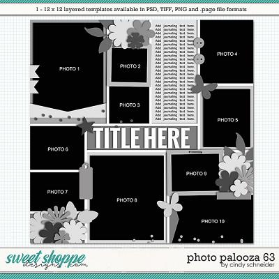 Cindy's Layered Templates - Photo Palooza 63 by Cindy Schneider