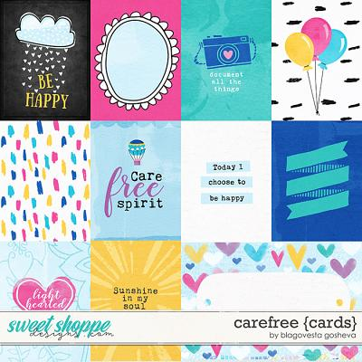 Carefree {cards} by Blagovesta Gosheva