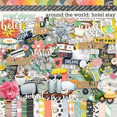 Around the world: hotel stay by Amanda Yi & WendyP Designs