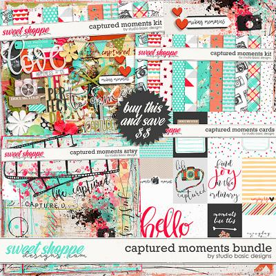 Captured Moments Bundle by Studio Basic