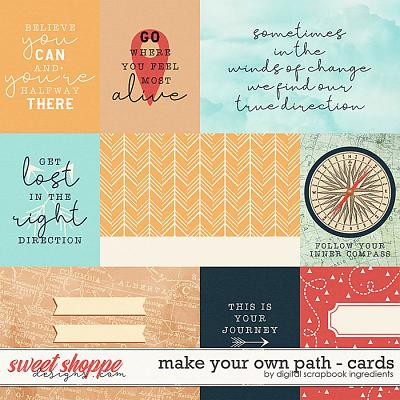 Make Your Own Path | Cards by Digital Scrapbook Ingredients