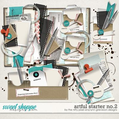 ARTFUL STARTER No.2 by The Nifty Pixel & Lynn Grieveson Designs