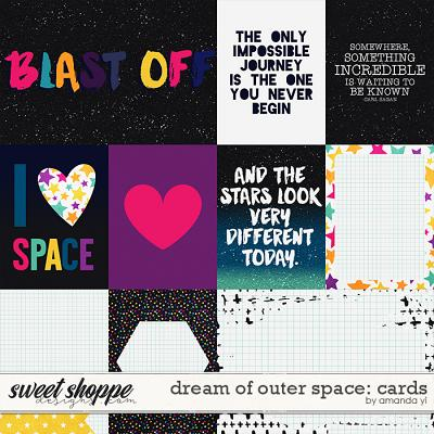 Dream of Outer Space : Cards by Amanda Yi